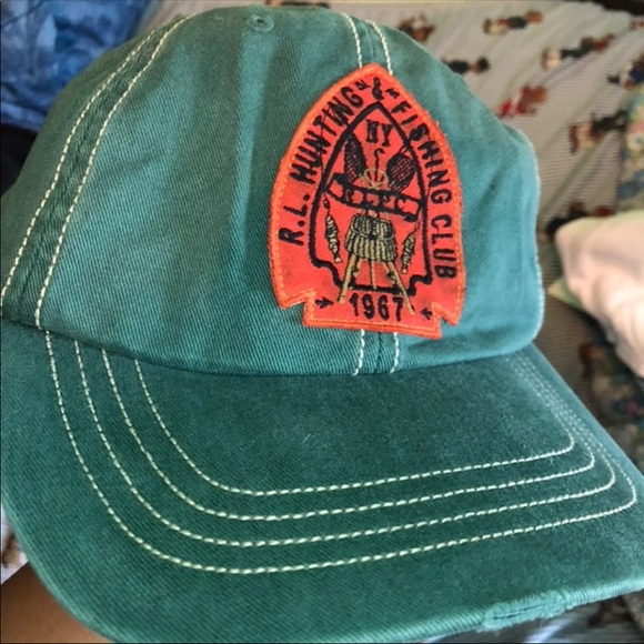 2bacefb8 VTG arrowhead Polo hunting and fly fishing clubcap. NWT. Polo by Ralph  Lauren